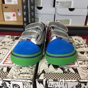 216389cb854 Vans Shoes - Vans Old Skool V Marvel Avengers Multi Toddler